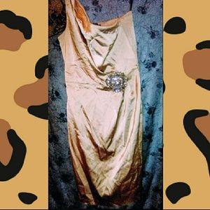 Nwot David Meister asymmetrical dress sz 10